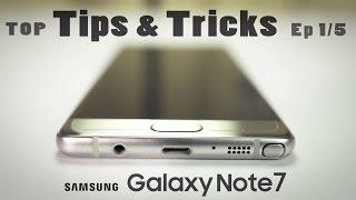 Galaxy NOTE 7 Hidden TIPS & TRICKS, Advanced Tutorial & Hacks! (Ep-1) 4K