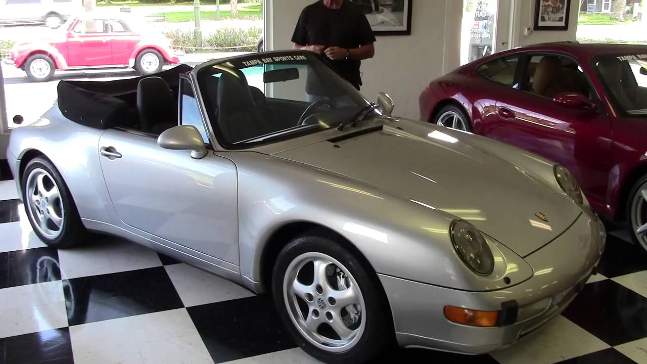 1997 Porsche Carrera 4 Cabriolet Vintage Classic Tampa Bay Sports Cars Youtube
