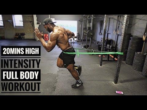 20mins fat burning high intensity full body workout