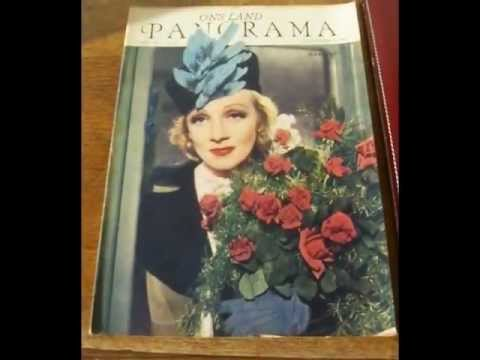Marlene Dietrich, Falling In Love, Again !