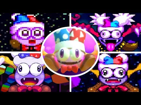 Evolution of Marx in Kirby Games (1996-2018)