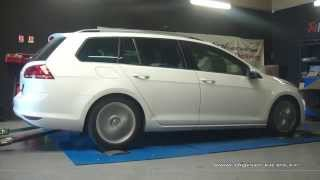 Reprogrammation Moteur VW Golf 7 tdi 150cv @ 183cv Digiservices Paris 77183 Dyno