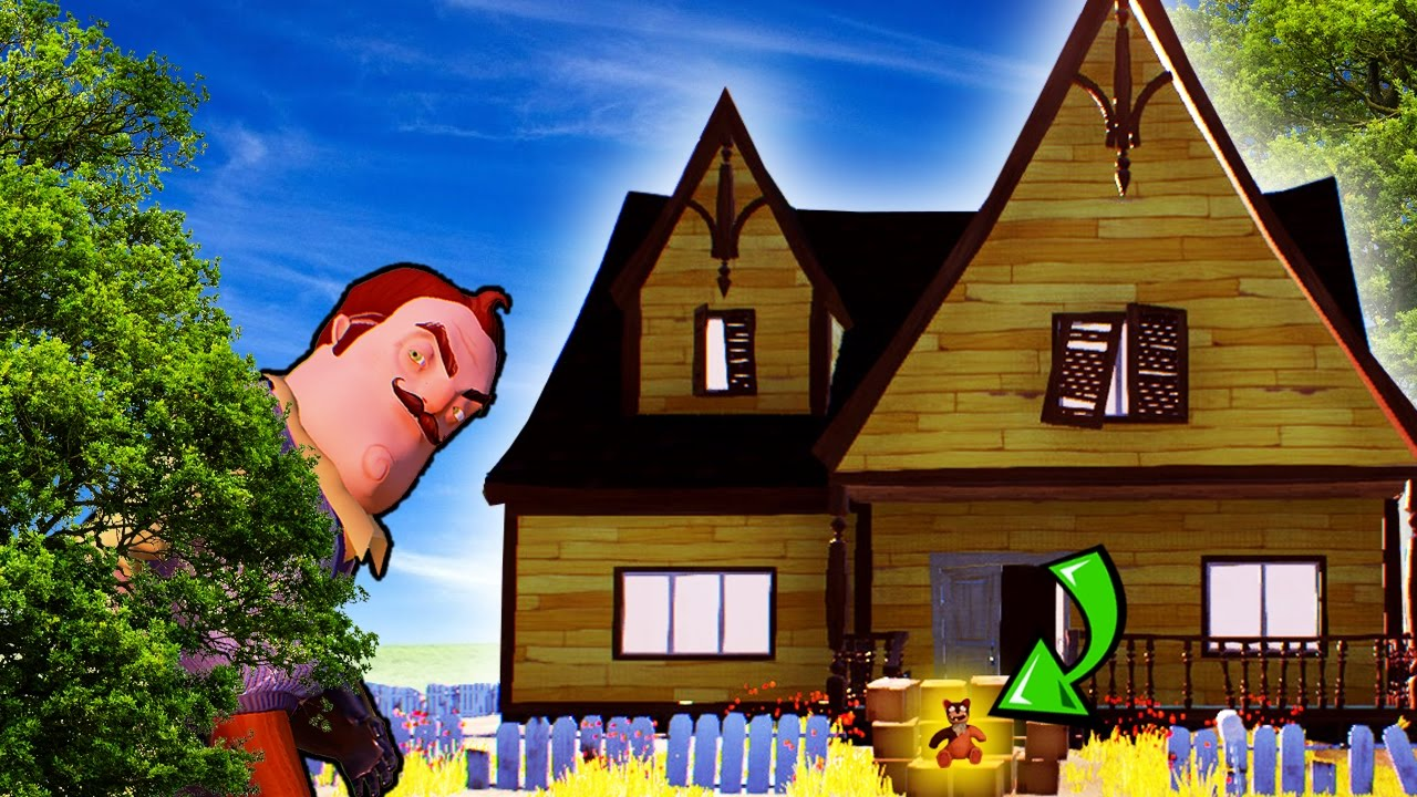 The hello neighbor house - Steal Everything Challenge Game Of Thrones Chair Hello Neighbor Hello Neighbor Challenges