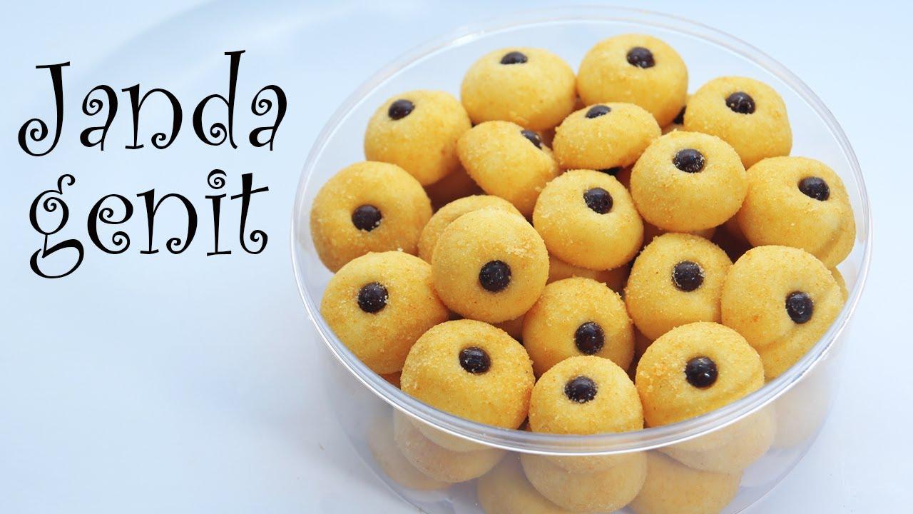 Cara Membuat Kue Janda Genit Ala Monde Butter Cookies Youtube
