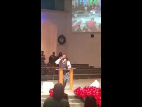 Bishop Marvin Sapp Preaching at Deeper Life