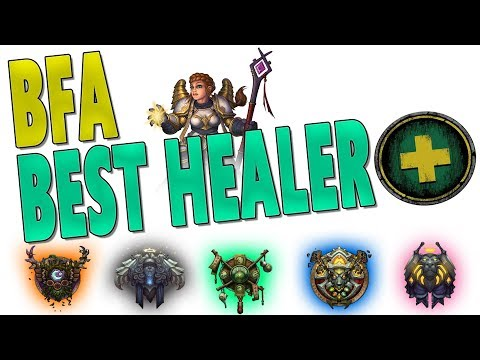 BfA BEST HEALER | HEALING CLASS GAMEPLAY CHANGES & RAID VIABILITY RANKING | Battle for Azeroth | WoW
