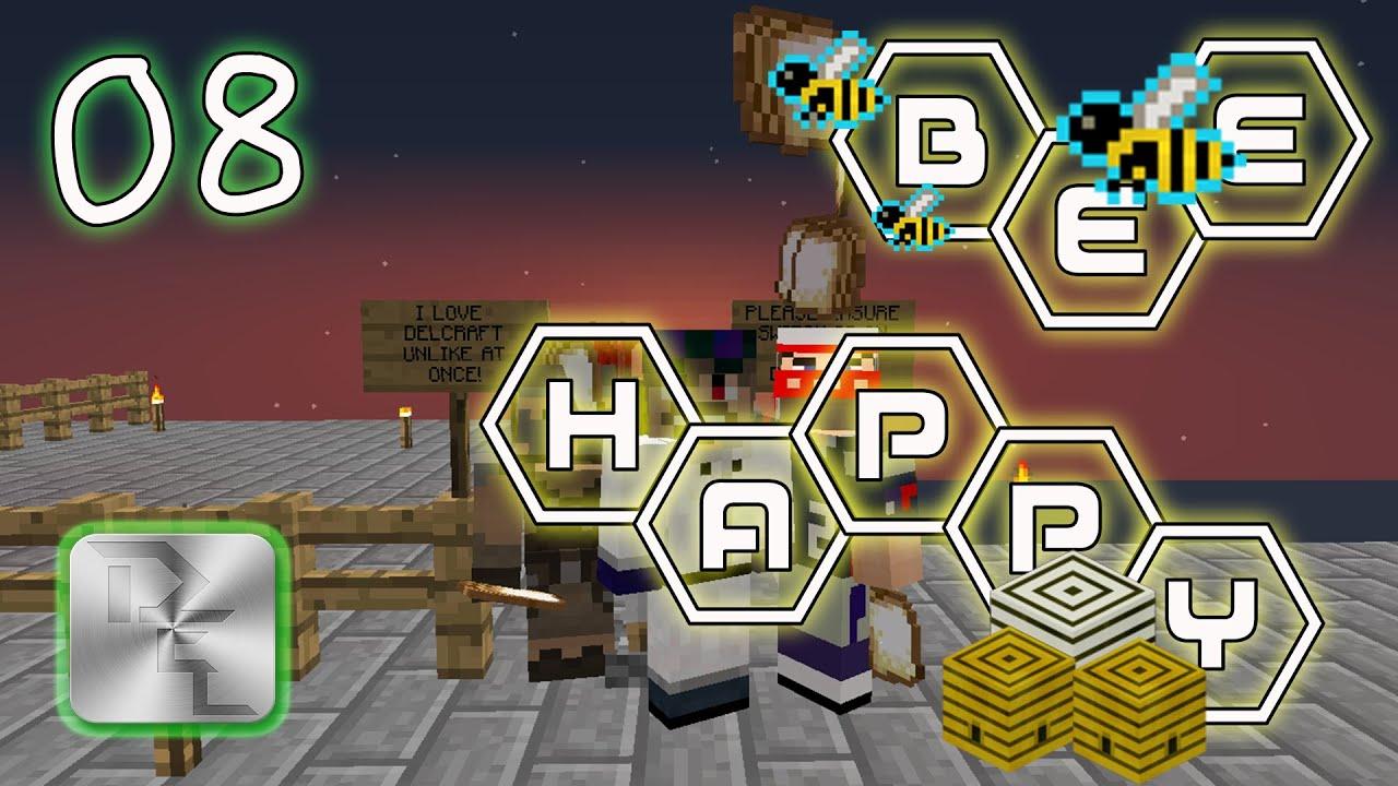 Minecraft Mod Pack Bee Happy - Episode 8 - Botanic Bee