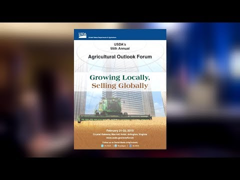 95th Annual USDA Agricultural Outlook Forum