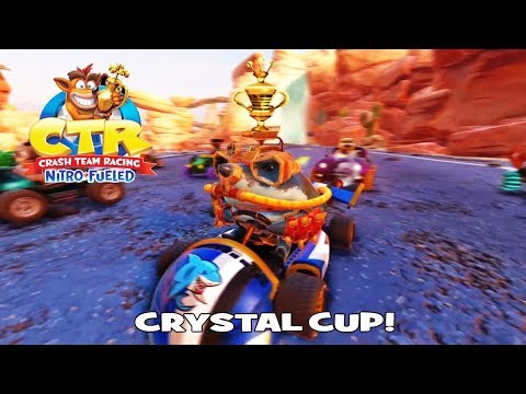 Crystal Cup | CTR Nitro-Fueled (PS4)