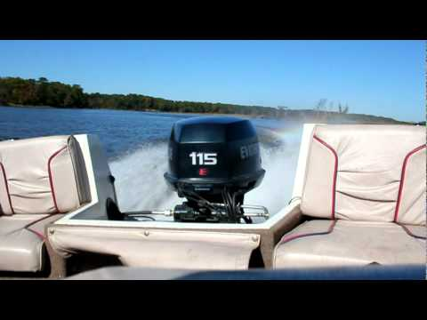 1995 115 hp Evinrude Test 2