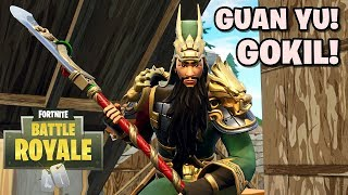 SKIN GUAN YU DYNASTY WARRIOR! - Fortnite: Battle Royale (mit DBangkongS)