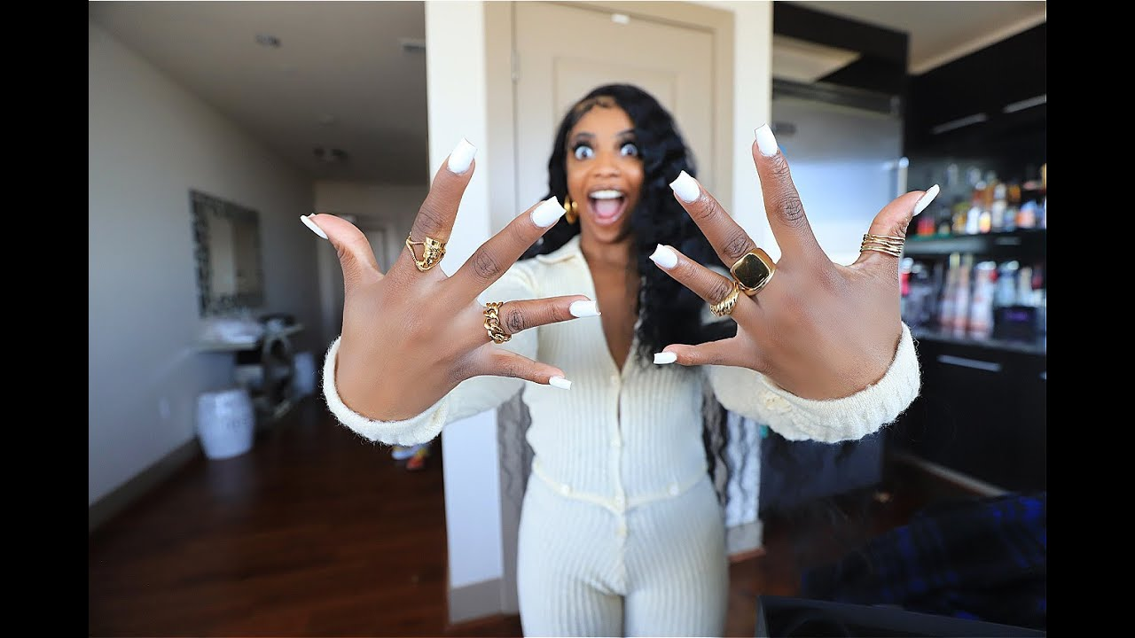 De'arra Wears SHORT Nails For 48 Hours!!