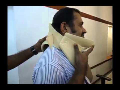 Philadelphia Collar Application - Top Phil Cervical Immobilizer