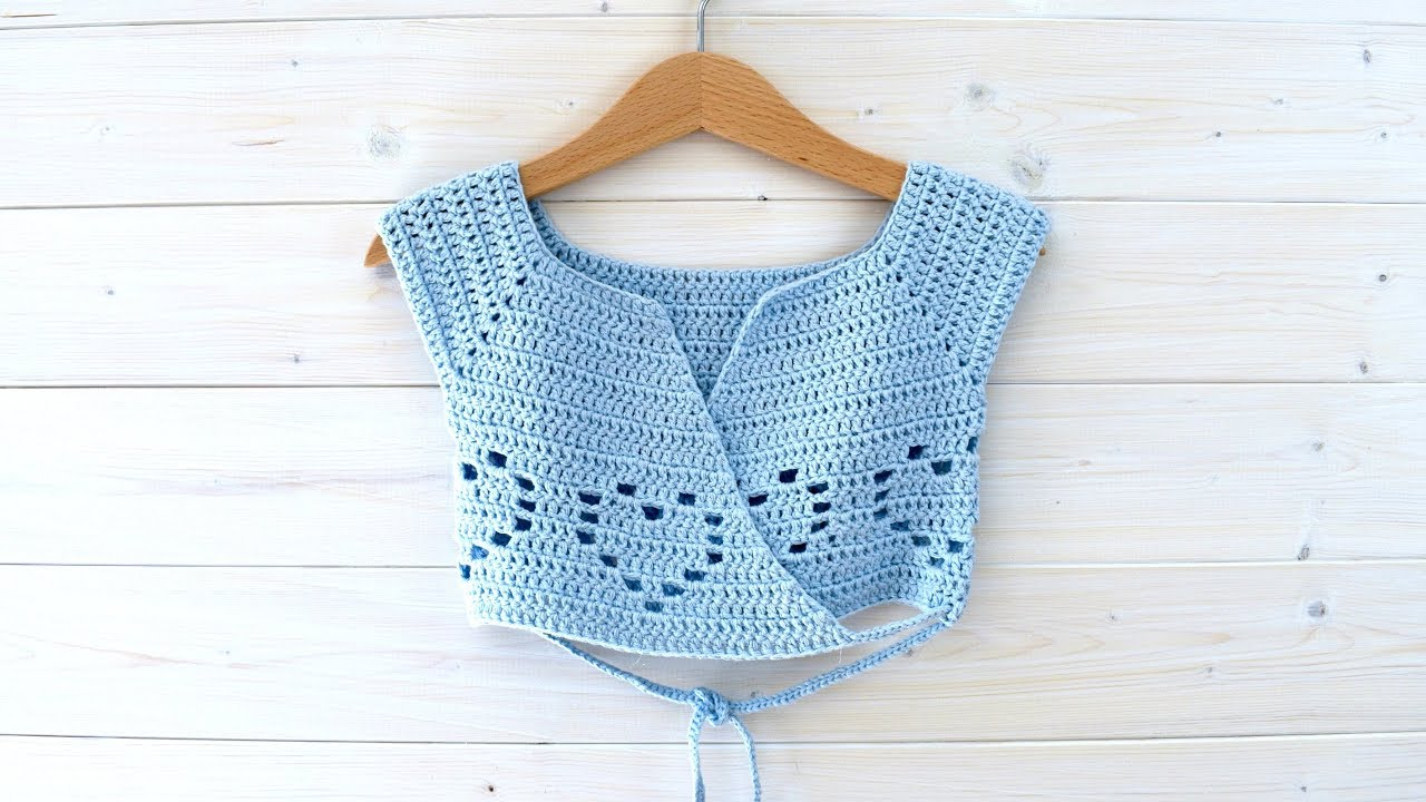 How To Crochet A Little Girl S Heart Ballet Cardigan The Margo