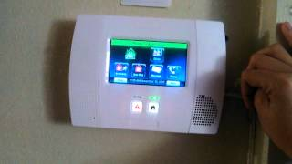 Home alarm test (Panic buttons) Honeywell