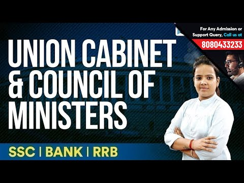 Indian Cabinet Ministers | Union Cabinet Minister Roles | Must Watch for SSC, Bank & RRB