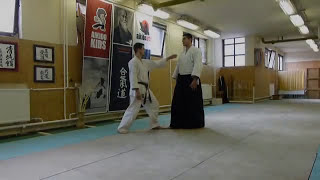 munadori sankyo omote [TUTORIAL] Aikido empty hand basic technique