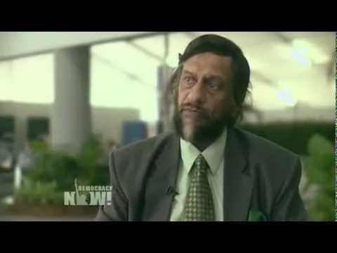 "Nobel-Winning IPCC Chair Rajendra Pachauri To Obama: ""Listen to Science"" on Global Warming"