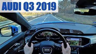 2019 Audi Q3 35 TDI, 4K POV TEST: Větší, hezčí a lepší!
