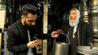 بامداد خوش - خیابان - دیدار سمیر صدیقی از یک حلبی سازی در منطقه کوتی سنگی شهر کابل