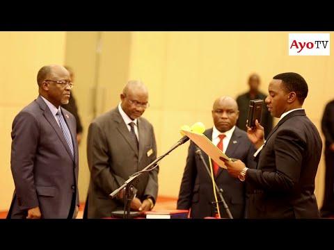 Full video Paul Makonda na wenzake walivyoapishwa Ikulu, Dar