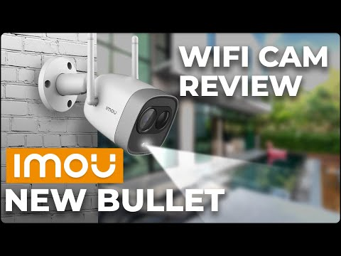 IMOU New Bullet 1080p G26EP Wi-fi Outdoor Camera Review – All You Need to Know Before Buy in 4 Min.