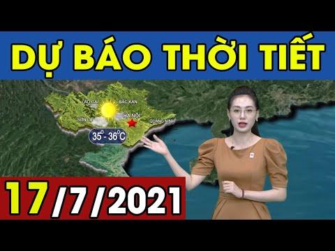 Dự Báo Thời Tiết Đêm Nay Và Ngày Mai 17/7/2021 | Dự Báo Thời Tiết Quảng Ninh Hôm Nay