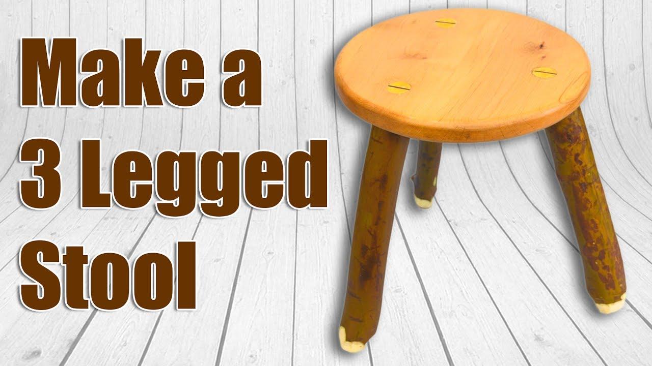 How To Make a 3 Legged Wood Stool (Milking Stool) & How To Make a 3 Legged Wood Stool (Milking Stool) - YouTube islam-shia.org