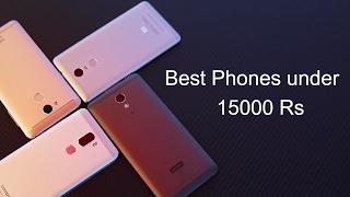 Best Mobiles Under 15000 (May 2017) (Redmi Note 4 vs Moto G5 plus vs Lenovo P2 vs Z2 plus vs K6)