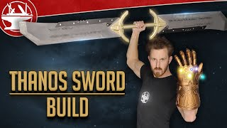 Thanos Sword Build!