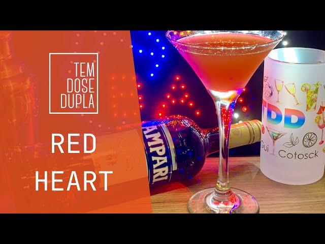 DRINK COM CAMPARI - Red Heart
