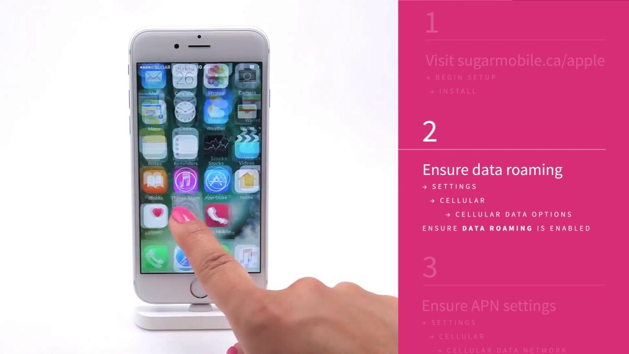 APN Setup for iOS Smartphones