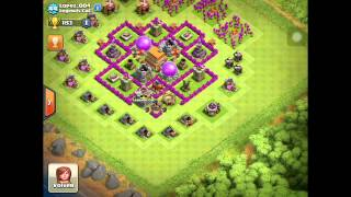 Clash Of Clans-Revisando Aldeas De Mi Clan