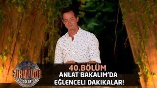 Anlat Bakalım'da eğlenceli dakikalar! | Survivor 2018 | 40. Bölüm