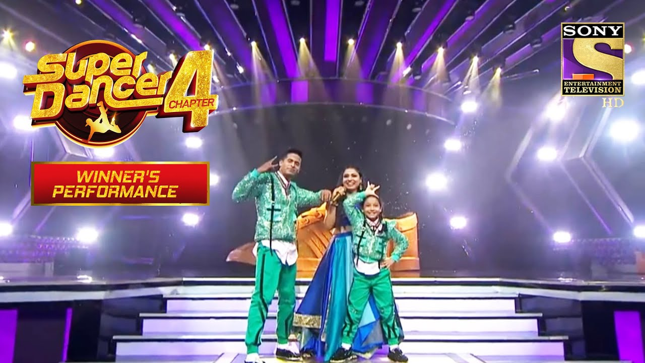 Download Tushar & Florina ने Arunita की Live Singing पे दिया Stunning Act |Super Dancer |Winner's Performance