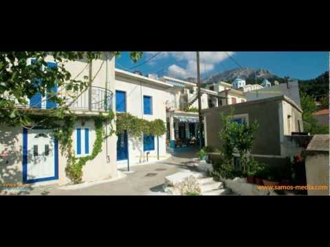 Greek islands: beautiful Samos, jewel of the Eastern Aegean (high quality, 720p)