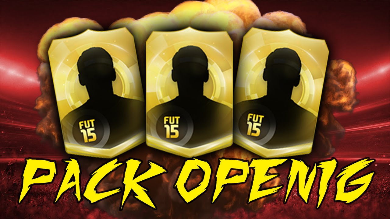 Fifa 15 Pack Openig Thumbnail Template 3 Colors Youtube