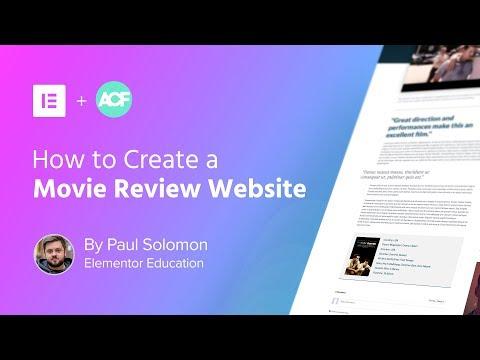 Advanced Custom Fields Tutorial: Create a WordPress Movie Review Website
