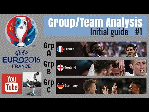 UEFA Euro 2016 Fantasy Football - Initial Guide