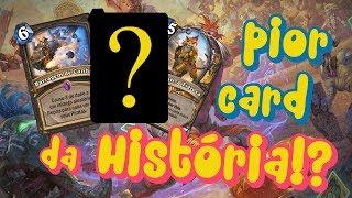 Hearthstone: PIOR CARTA DA HISTÓRIA DA ARENA!? Análise do Ringue do Rastakhan para arena! #1