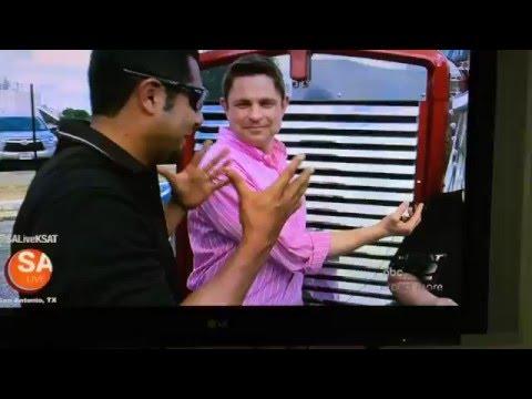 KSAT Channel 2 Texas Trocas Interview - Texas Chrome Shop