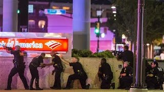 Dallas Shooting Mayhem Caught on Video