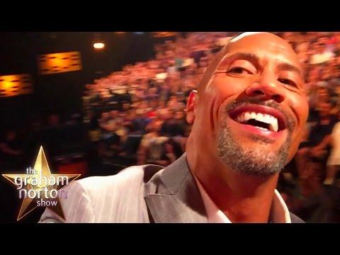 Dwayne 'The Rock' Johnson Shows Off His Hilarious Rock Clock Alarm - The Graham Norton Show