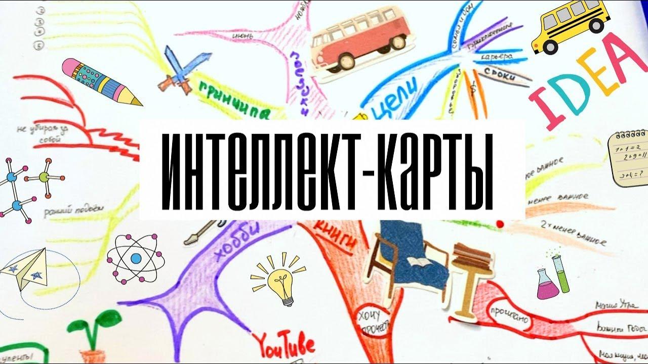 Что такое интеллект карты (Mind Map)?