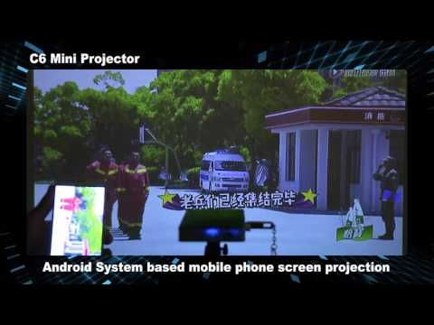 CSQ C6 Android DLP Projector