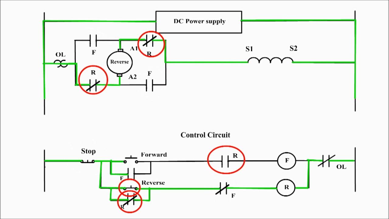 Dc Motor Control Circuit Diagram Forward Reverse   motorwallpapers.org