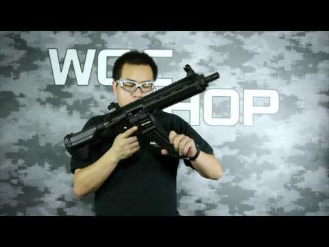 Umarex / VFC HK416 D10.5RS GBB ( ASIA EDITION / WGC Custom )