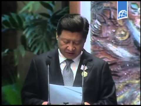 """Cuba: Ceremonia de imposición de la Orden """"José Martí"""" al Presidente de China"""