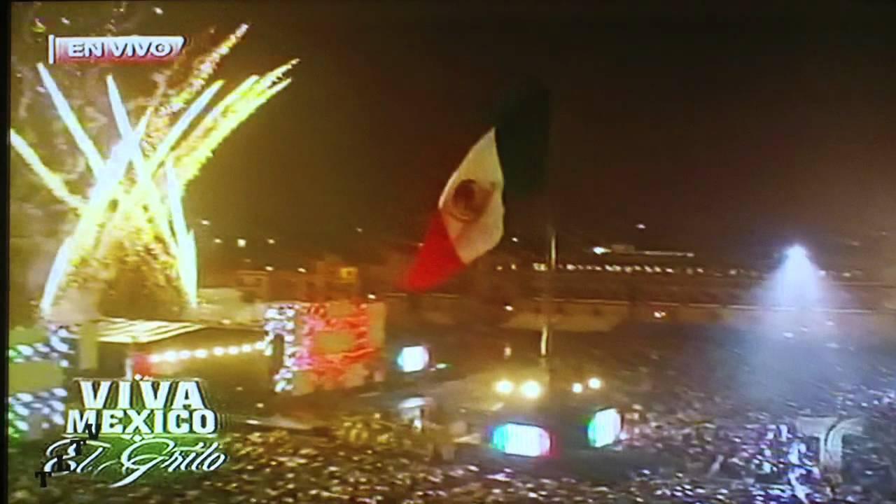 15 de septiembre del 2012 ceremonia del grito de