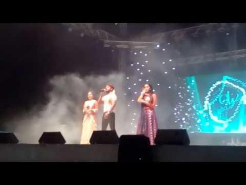Khesari lal yadav & kallu ji stage show Doha Qatar